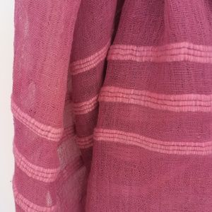 Accessories - Dusty Rose and Terra Cotta Scarves